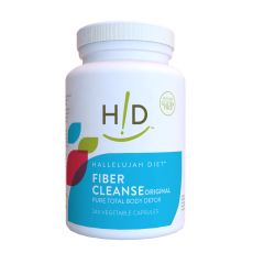 Fiber Cleanse Capsules - Natural Colon Cleanse - (240 Count)