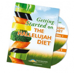 Getting Started On The Hallelujah Diet DVD Set