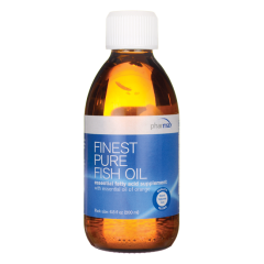 Finest Pure Fish Oil 6.8 ounce (200 ml) bottle