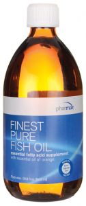 Finest Pure Fish Oil 16.9 ounces (500 ml) bottle