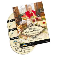 Rhonda's Culinary Creations DVD set