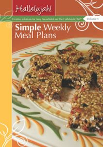 Hallelujah Simple Weekly Meals