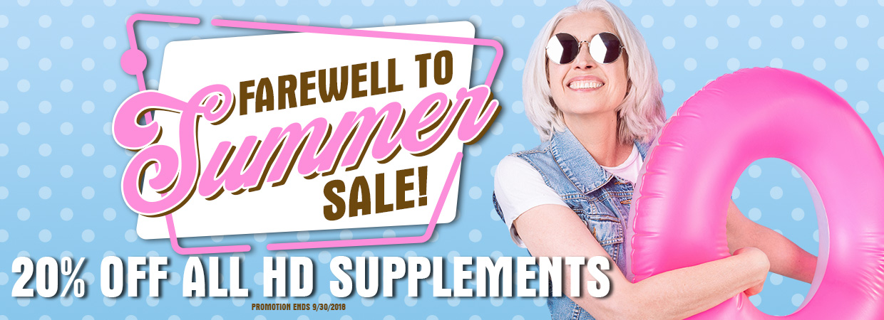 Farewell to Summer Sale