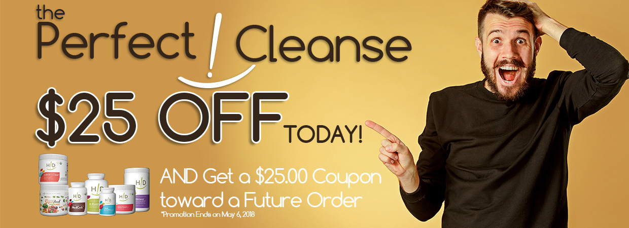 Perfect Cleanse B25G25Promotion