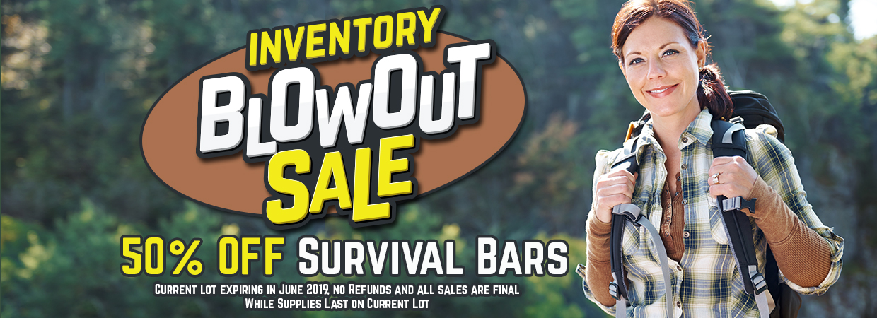 Survival Bar Sale May 2019