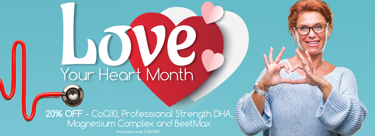 Love Your Heart Month Sale 2019