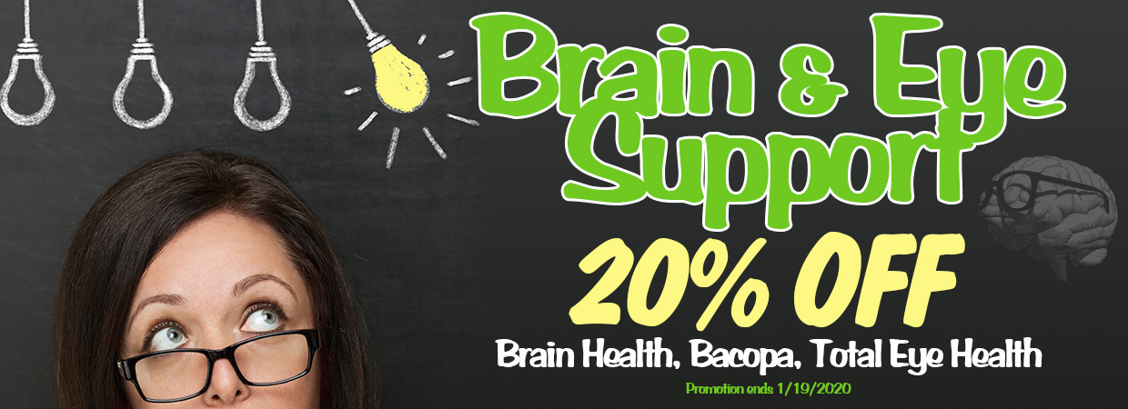 Brain and Eye Support Sale