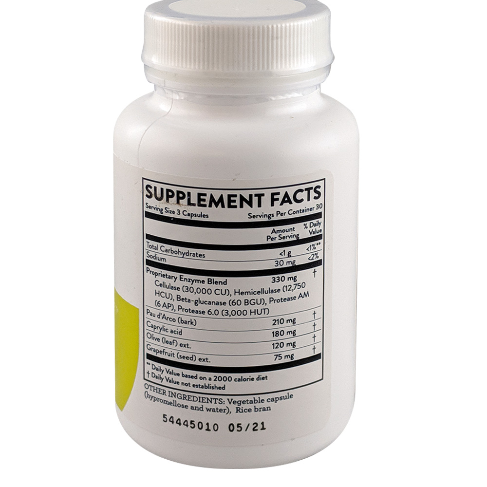Candida Supplement facts