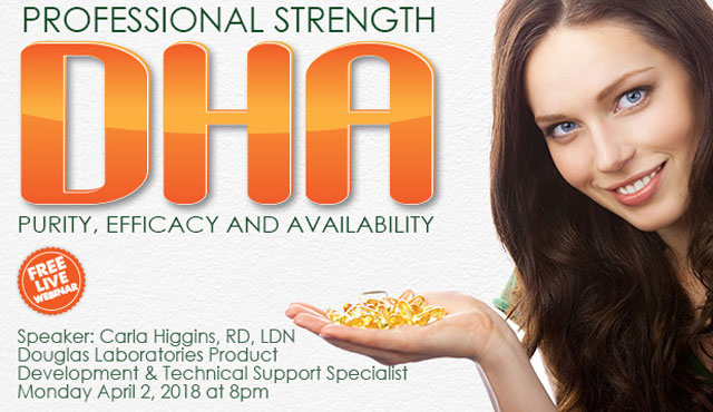 Professional Strength DHA - Purity, Efficacy and Availability Webinar