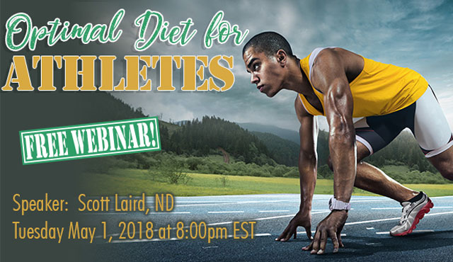 Optimal Diet for Atheletes Webinar