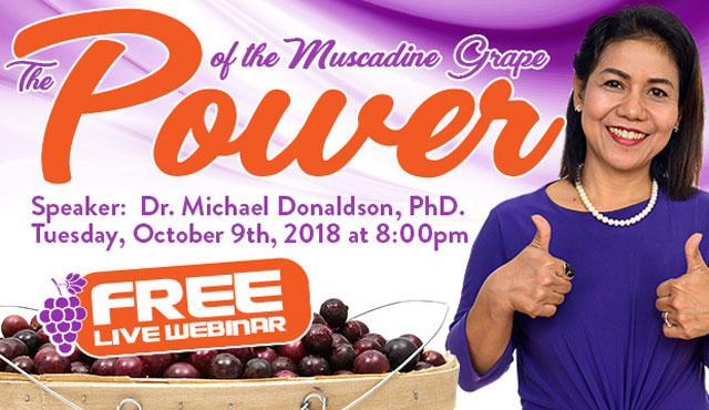 The Power of the Muscadine Grape Webinar