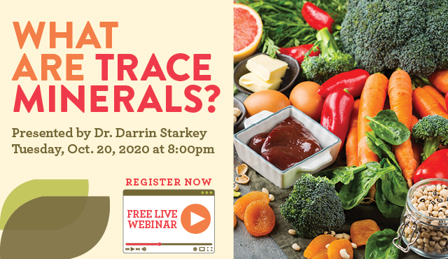 What are Trace Minerals Webinar